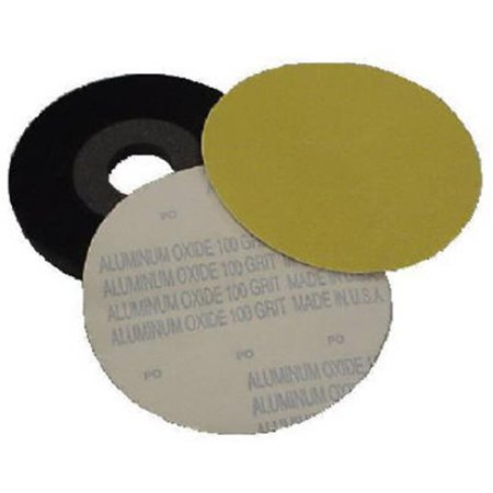 Virginia Abrasives 400-00011 9 x 0.1 in. 80 Grit Drywall Sander Velour Backed Sanding Disc, Pack of 10 - image 1 of 1