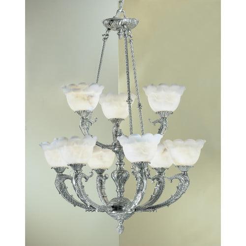Classic Lighting Victorian I 9 Light Chandelier