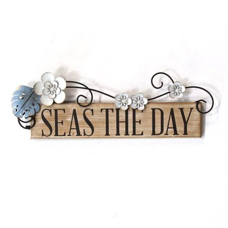 Stratton Home Decor Seas the Day Wall Decor - image 1 de 1