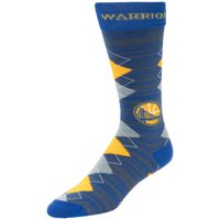 Golden State Warriors For Bare Feet Fan Nation Crew Socks - L