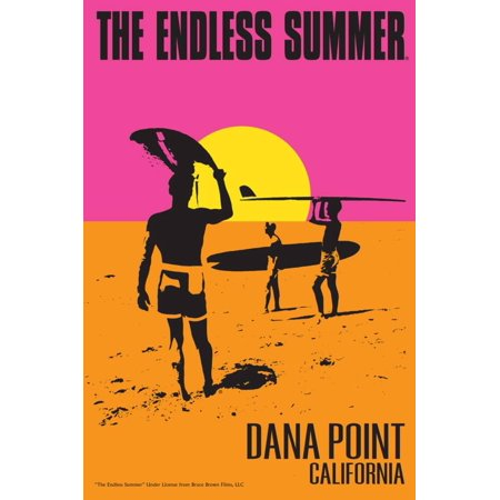 Dana Point, California - The Endless Summer - Original Movie Poster Print Wall Art By Lantern - City Of Dana Point Halloween