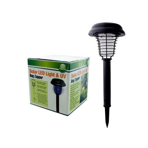Bulk Buys Solar LED Light and UV Bug Zapper, Case of 1