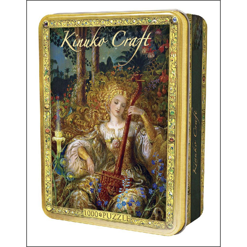 Kinuko Craft Tin  -  Song For The Basilisk 1000 Piece Pu, Puzzles by Masterpieces Puzzle Co.