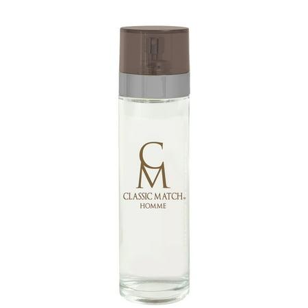 Classic Match Homme, version of L'Homme* Yves Saint Laurent, by PB ParfumsBelcam, Eau de Toilette Spray for Men, 3.4