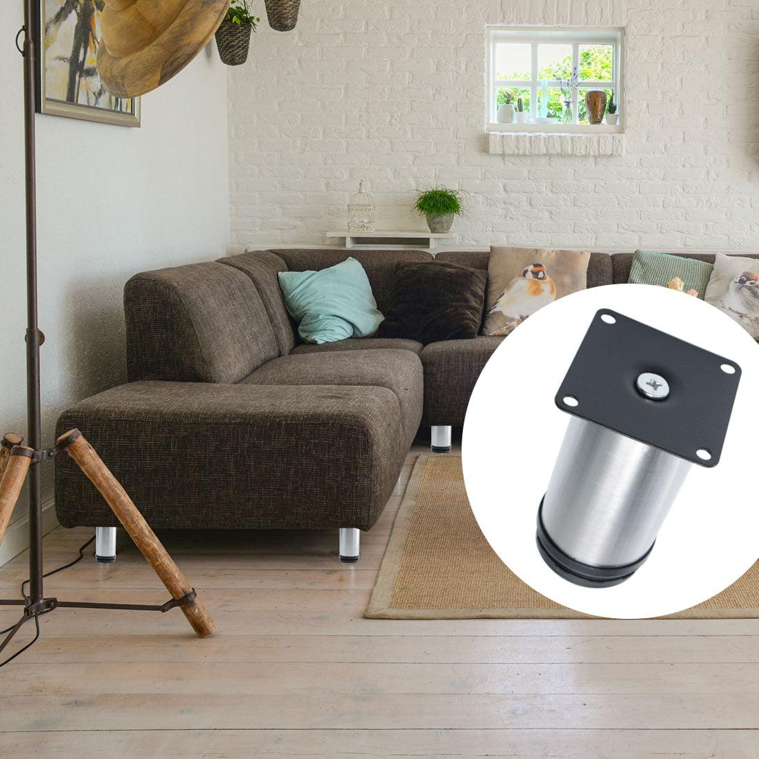 Sofa//Table//Cabinets//Shelves Adjustable Stainless Steel Metal Furniture Leg LH