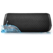 Photive HYDRA v2 Waterproof Wireless Bluetooth Speaker. Rugged Portable Shockproof and Waterproof Portable Speaker