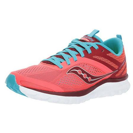 Saucony Womens Liteform Miles Sneaker Shoe Coral Blue Size 5 M US  - Cheap Size 5 Shoes
