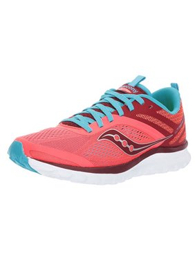 34654950b Product Image Saucony Womens Liteform Miles Sneaker Shoe Coral Blue Size 5  M US S3000-7
