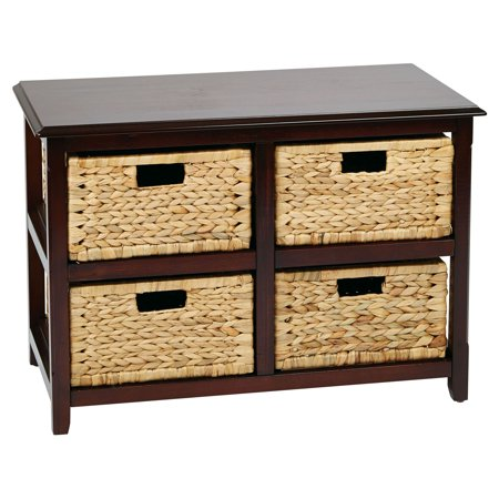Seabrook 2 Shelf End Table with 4 - Seabrook Antique