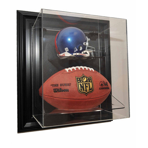 Caseworks International Mini Helmet and Football ''Case-Up'' Display