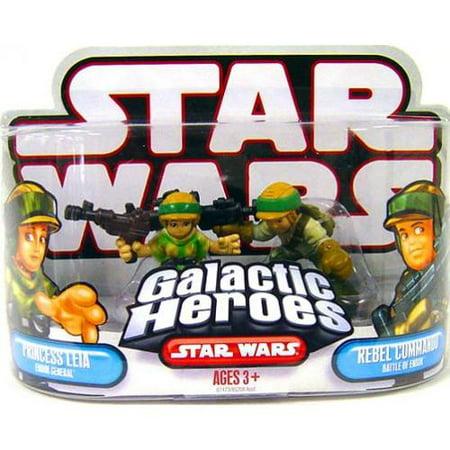 Princess Leia & Rebel Commander Mini Figure 2-Pack Battle of Endor - Princess Leia Endor