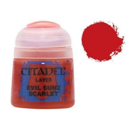 Citadel Layer 1 Evil Suns Scarlet by Games -