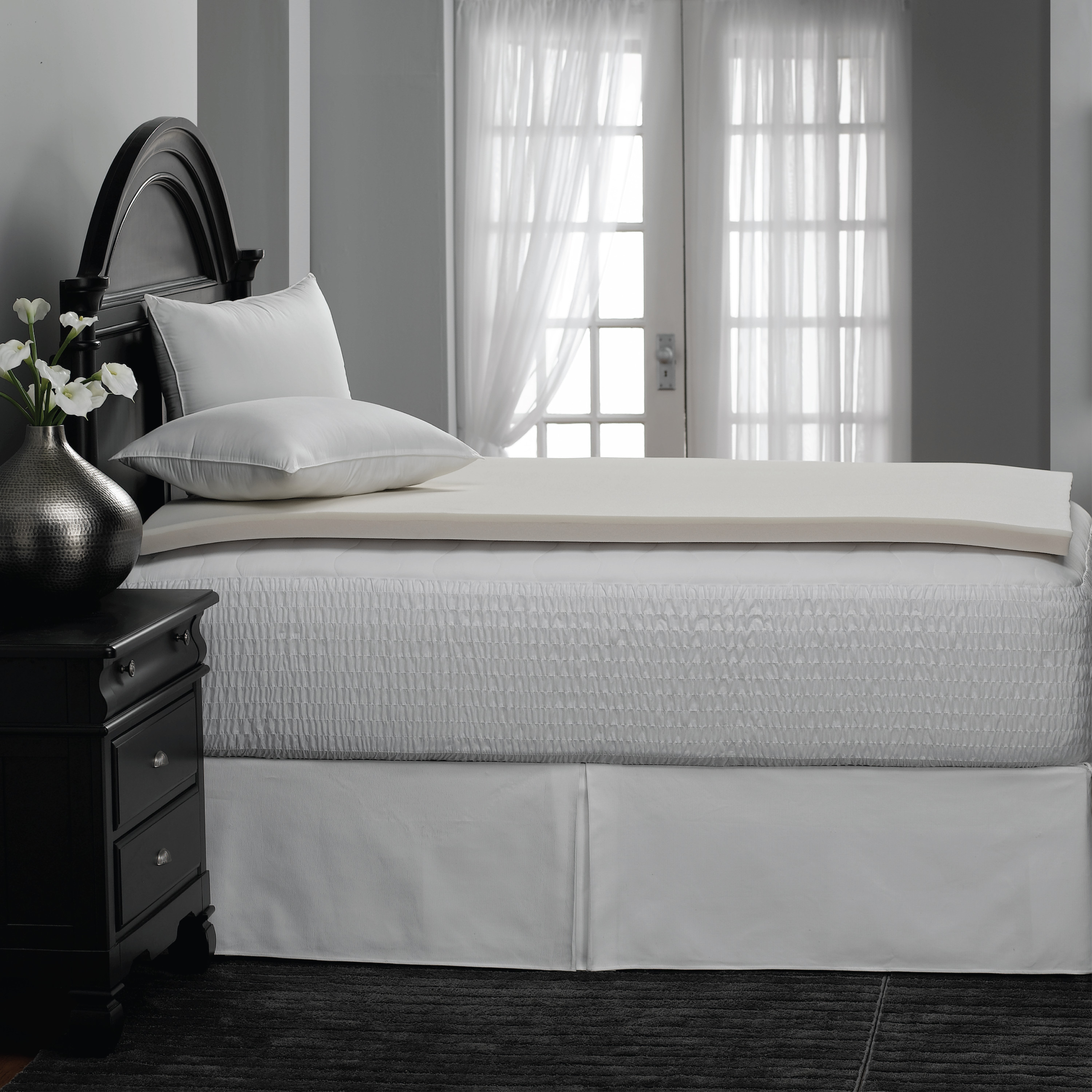 Clearance Mainstays College 1 375 Quot Memory Foam Mattress