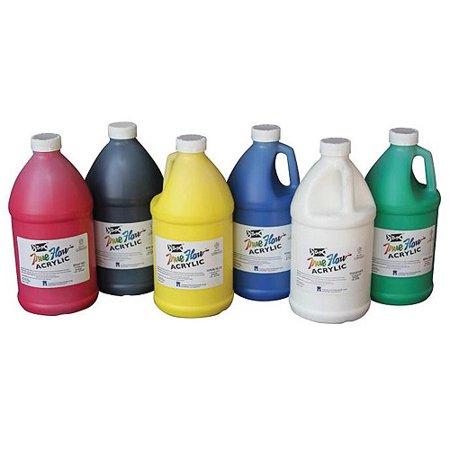 Sax true flow non toxic medium body acrylic paint set 0 5 for Craft smart acrylic paint walmart