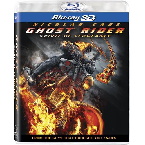 Ghost Rider: Spirit Of Vengeance (3D Blu-ray + UltraViolet) (With INSTAWATCH) (Anamorphic Widescreen)