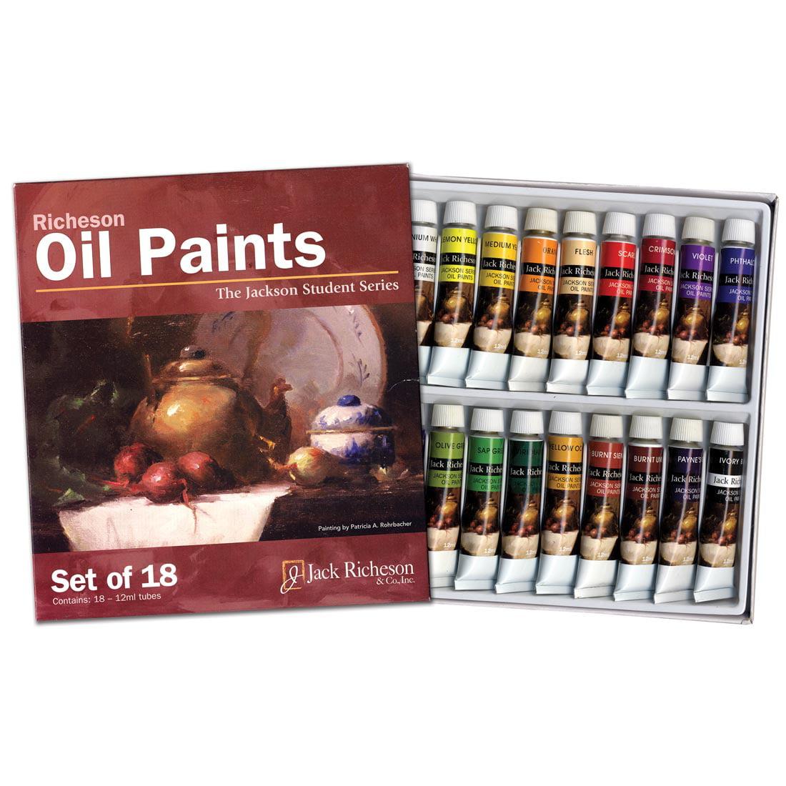 Richeson Oil Paint Set