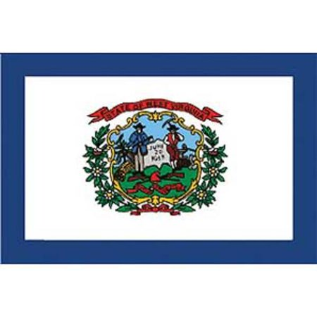 West Virginia Flag On A Stick 12