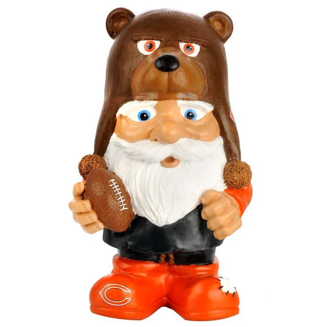 Chicago Bears Garden Gnome Mad Hatter by Forever Collectibles