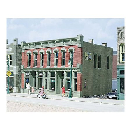 - DPM 12000 HO Scale KIT Front Street Building, Realistic