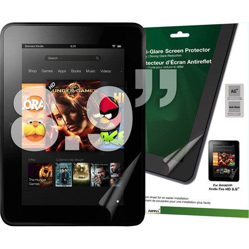 Green Onions RT-SPAKF8902HD AG+ Anti-Glare Screen Protector for Kindle Fire HD 8.9""
