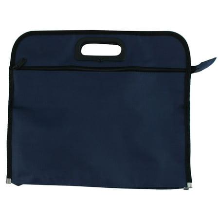 Unique Bargains Nylon Business Portfolio File Folder Document Bag Organizer w Handle 15