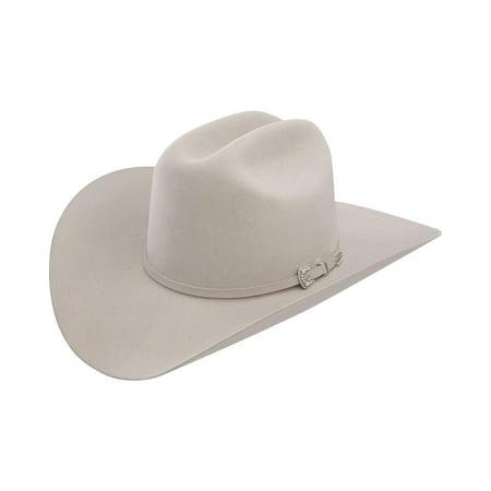 Stetson - Stetson Men s 6X Skyline Silver Grey Fur Felt Cowboy Hat -  Sfskyl-754088 Silver Grey - Walmart.com 8895dcc51ac