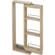 "Hardware Resources Wall Cabinet Filler Pullout 6"" X 36"" Wfpo636 1/Ctn Hard Maple"