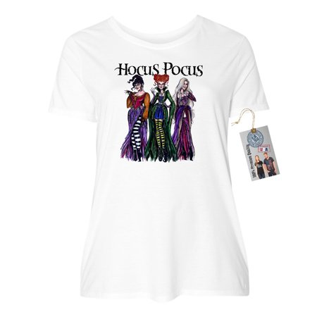031f86842 custom-apparel-r-us - womens plus size short sleeve shirt hocus pocus shirt  sanderson sisters - Walmart.com