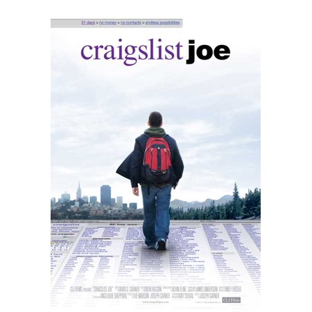 Craigslist Joe Poster Movie  27X40