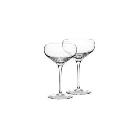 Vera wang sequin champagne flute set of 2 - Vera wang martini glasses ...