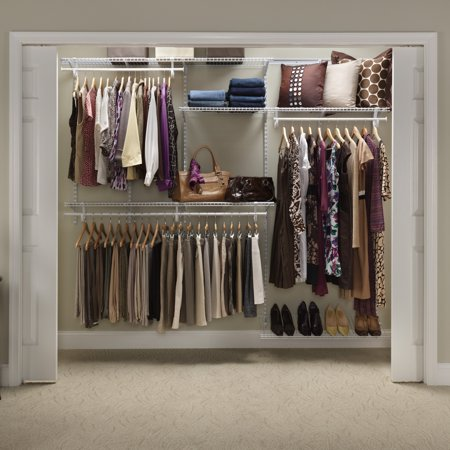 Closetmaid Shelftrack Closet Organizer Kit 5 To 8