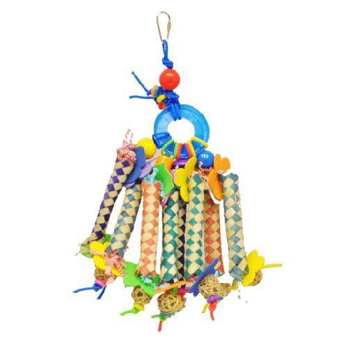 Image of A and E Cage Co. Chinese Finger Trap Bird Toy