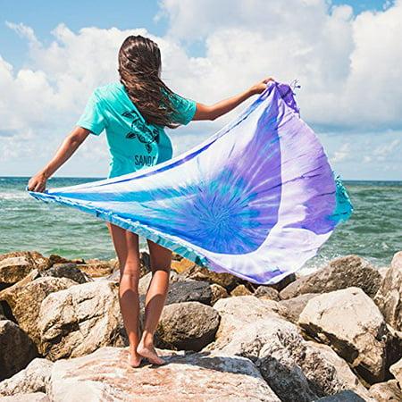 Luna Tie Dye Beach Towel   As Seen On Shark Tank
