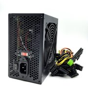 KENTEK 650 Watt 650W Black 12cm 120mm Fan ATX Power Supply 12V SATA 20/24 PIN PCI EXPRESS PCI-E Intel AMD by KENTEK