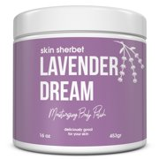 Skin Sherbet Lavender Dreams Body Polish Salt Scrub - 23oz
