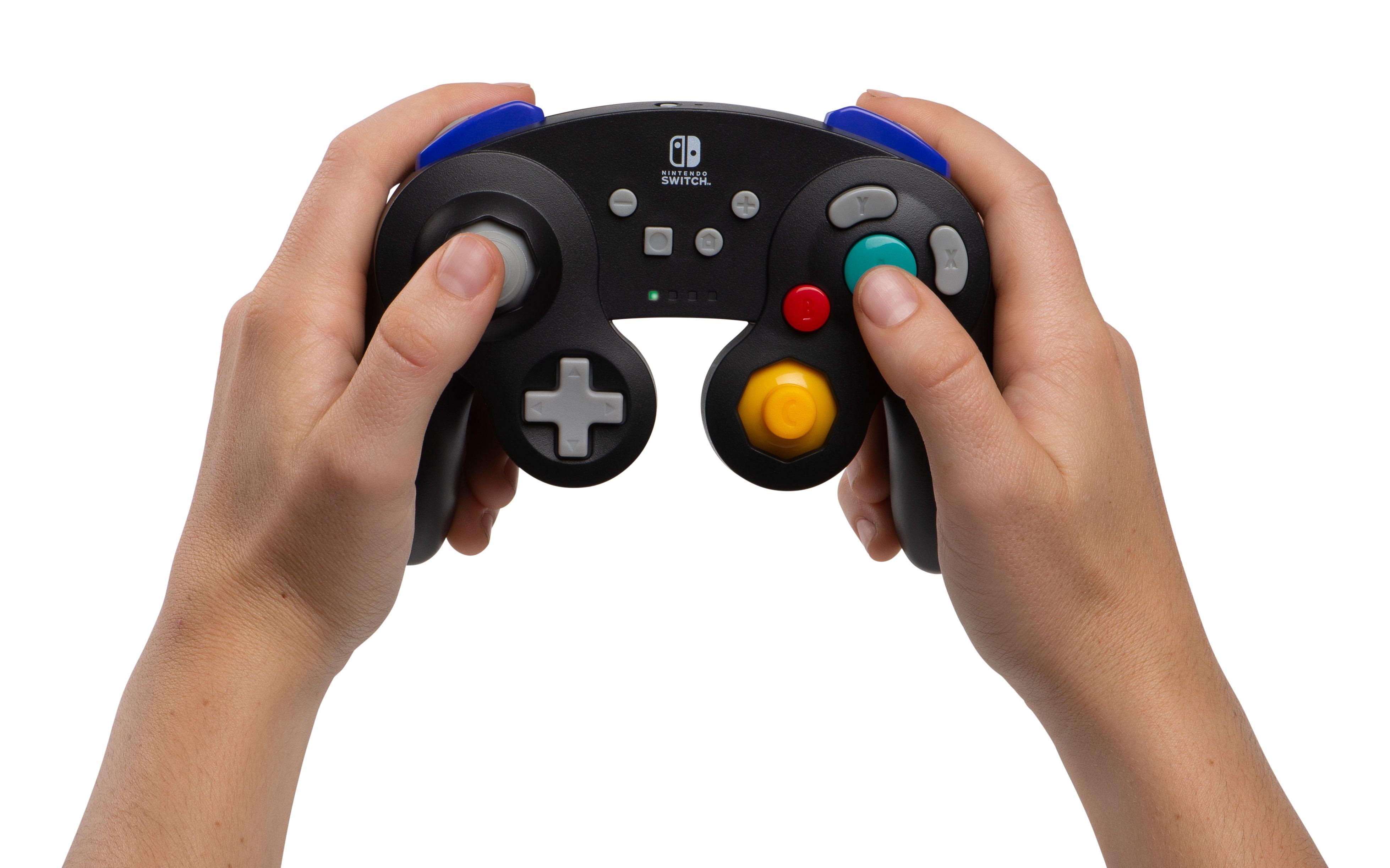 PowerA Wireless Controller for Nintendo Switch - GameCube Style: Black  (1507451-01)