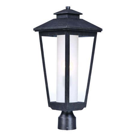 Outdoor Post Light Bulb Fixture 1 Light Bulb Fixture With Artesian Bronze Finish Aluminum Material MB Bulbs 9 inch 100 Watts