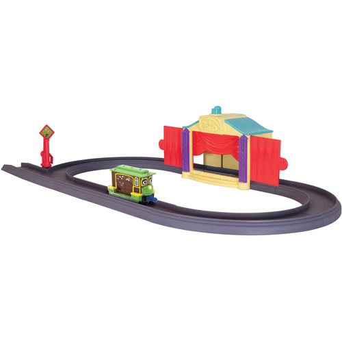 Chuggington Die-Cast Zephie's Magic Stage Play Set
