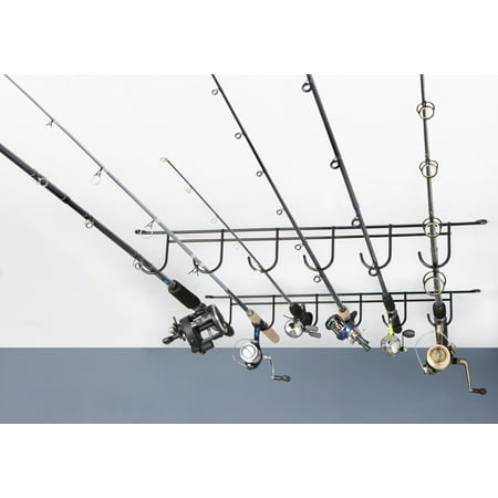 Rack'Em Overhead 6 Rod Fishing Rack