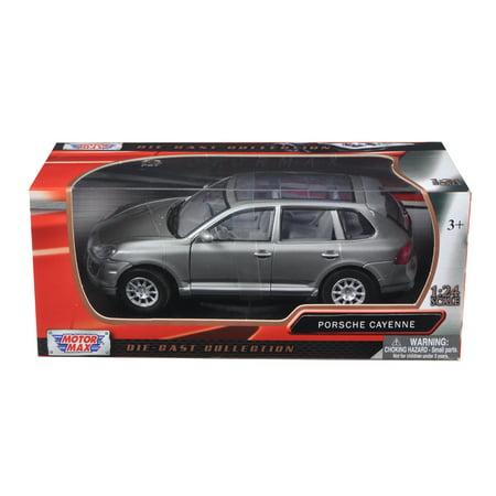 2008 Porsche Cayenne Grey 1/24 Diecast Car Model by Motormax