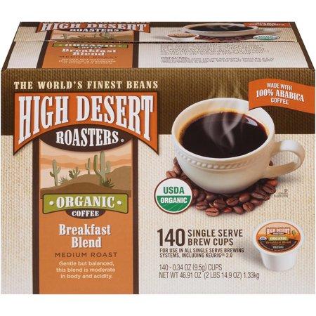 Desert Blend (High Desert Roasters Breakfast Blend Single Serve Pods (140)
