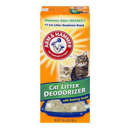 Arm & Hammer, Cat Litter Deodorizer With Baking Soda, 20 (Arm And Hammer Multi Cat Litter Ingredients)