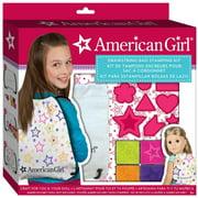 American Girl Drawstring Backpack Kit,  Kids Crafts by Fashion Angel Enterprises