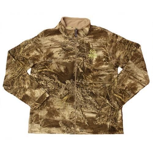 Men's Fleece Camo Full-Zip Jacket, Available in Multiple Patterns