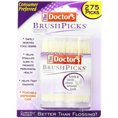 The Doctor's Brush Picks Interdental Toothpicks - 275 CT