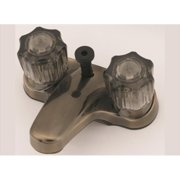 AMER BRASS CJW73AB 4 In. Antique Brass Lavatory Faucet