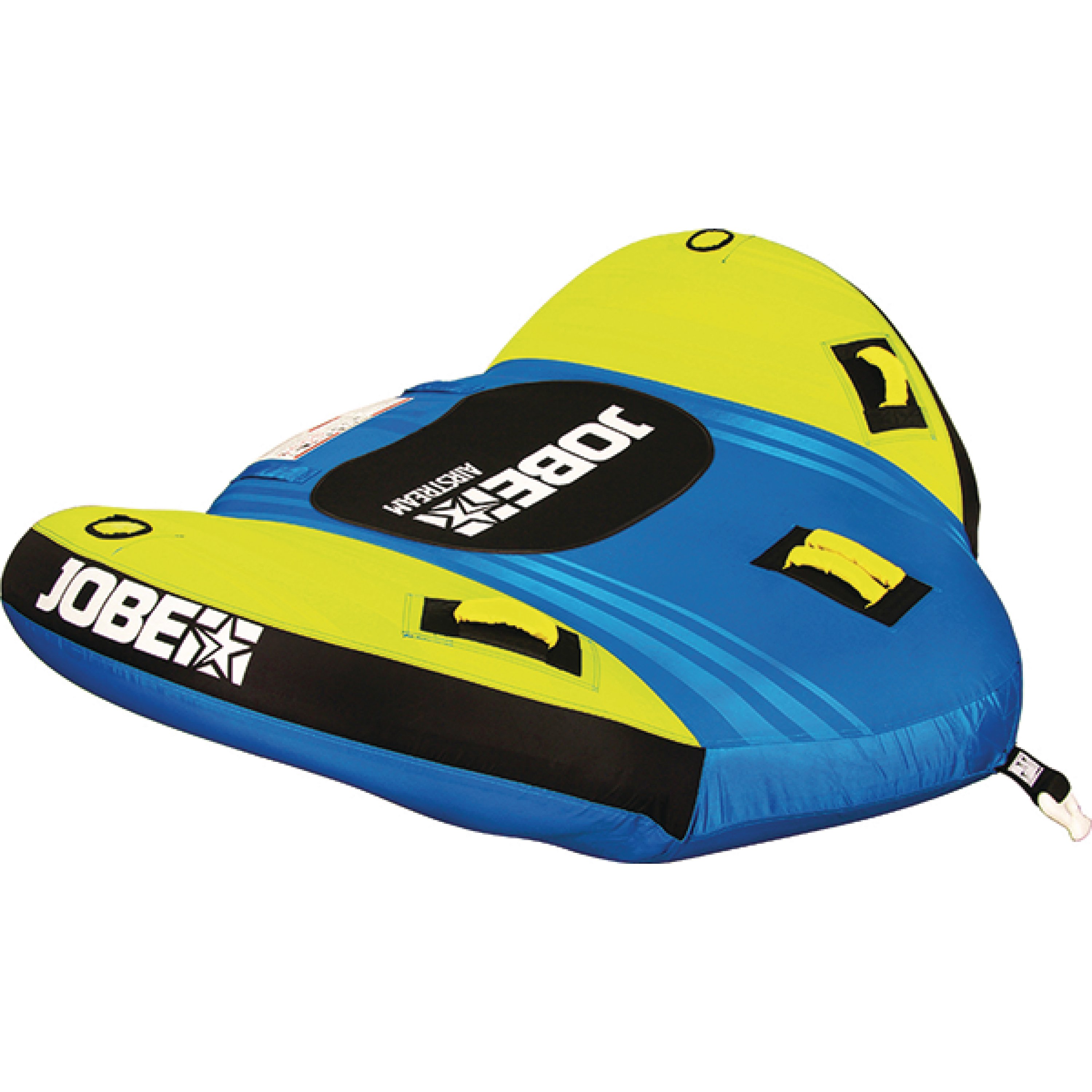 Jobe Airstream Blue & Yellow Winged Inflatable Towable