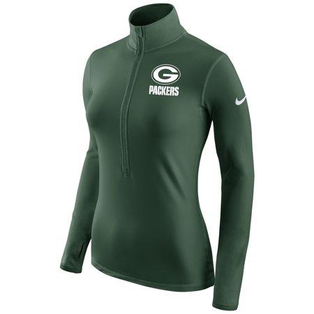 - Green Bay Packers Nike Women's Champ Drive Pro Hyperwarm Half-Zip Jacket - Green