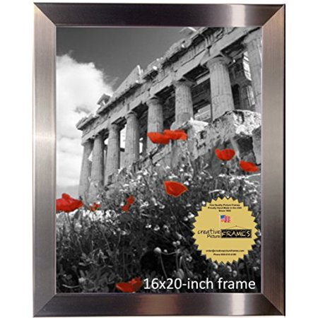 CreativePF 16x20-inch Stainless Steel Finish Picture Frame (1, Stainless (Stainless Steel Frames)