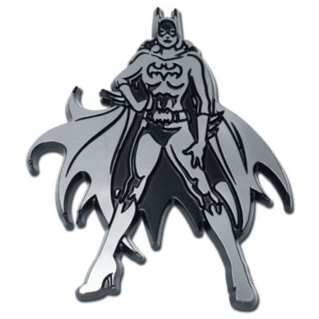 Batgirl Chrome Emblem - Batgirl Emblem